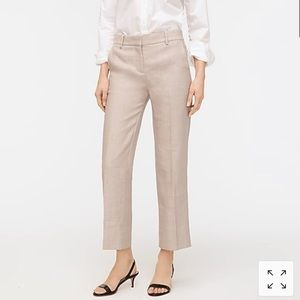 NWT J. Crew Peyton Pant in Stretch Linen